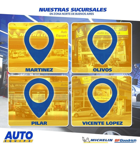 kit x4 neumáticos 245/80/16 bf goodrich kdr 2 + comp- outlet