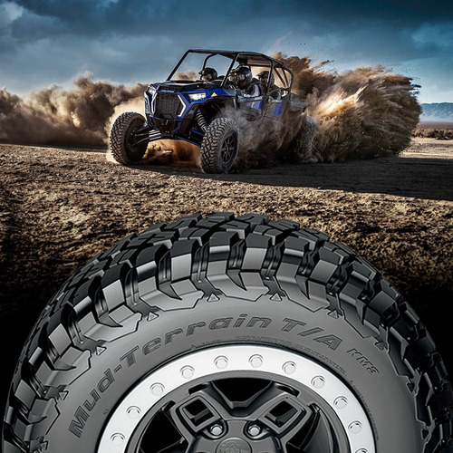 kit x4 neumaticos 30x10,00 r14 bf goodrich mud km3 utv outle