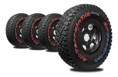 kit x4 neumáticos 37x12.50 r17  goodrich kdr2 +compet outlet