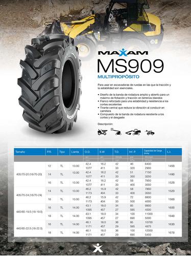 kit x4 neumaticos  405/70-20 ms909 14pr