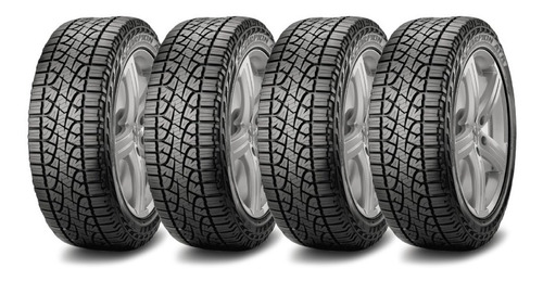 kit x4 pirelli 175/70 r14 scorpion atr neumen fiat uno way