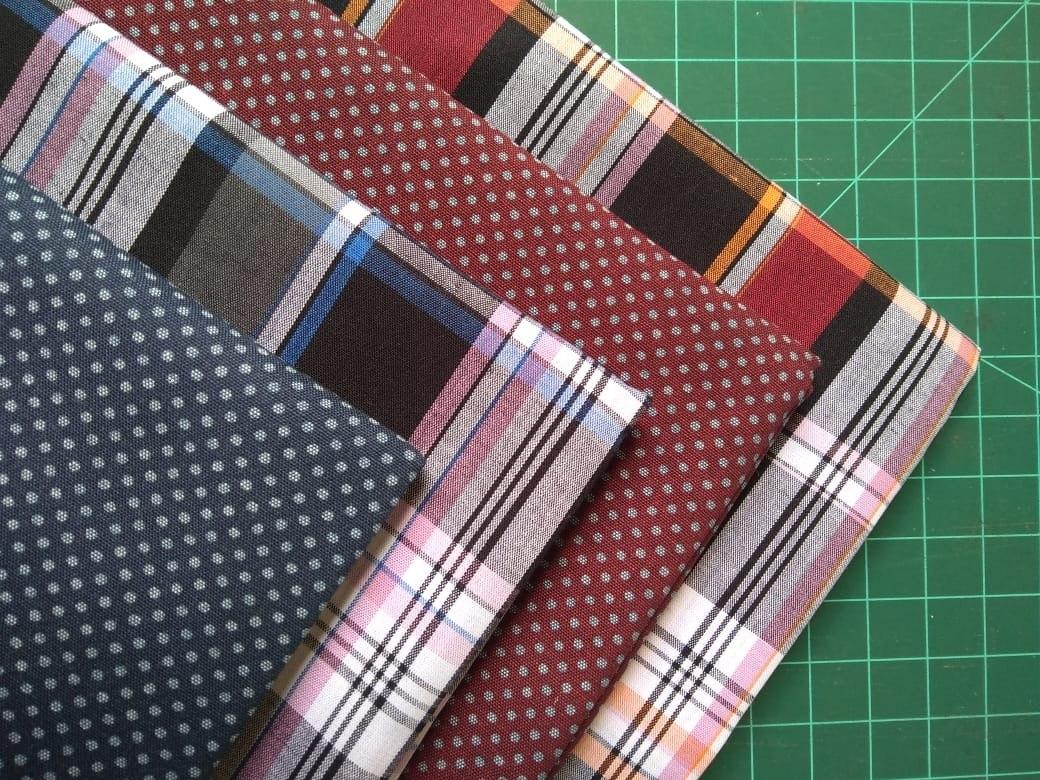 7c18df409f kit xadrez tecido tricoline patchwork 4 retalhos 50cmx70cm. Carregando zoom.