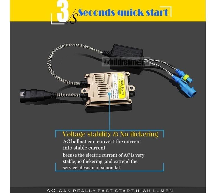 Kit Xenon Ac 55w Digital Hb3 9005 Jeep Compass