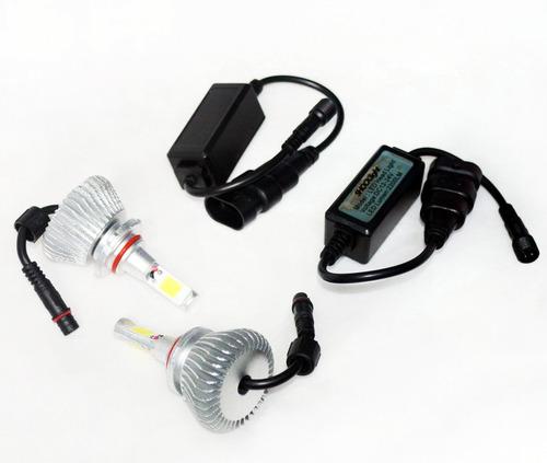 kit xenon de led 6000k h1 h3 h4 h7 h11 h27 hb3 hb4