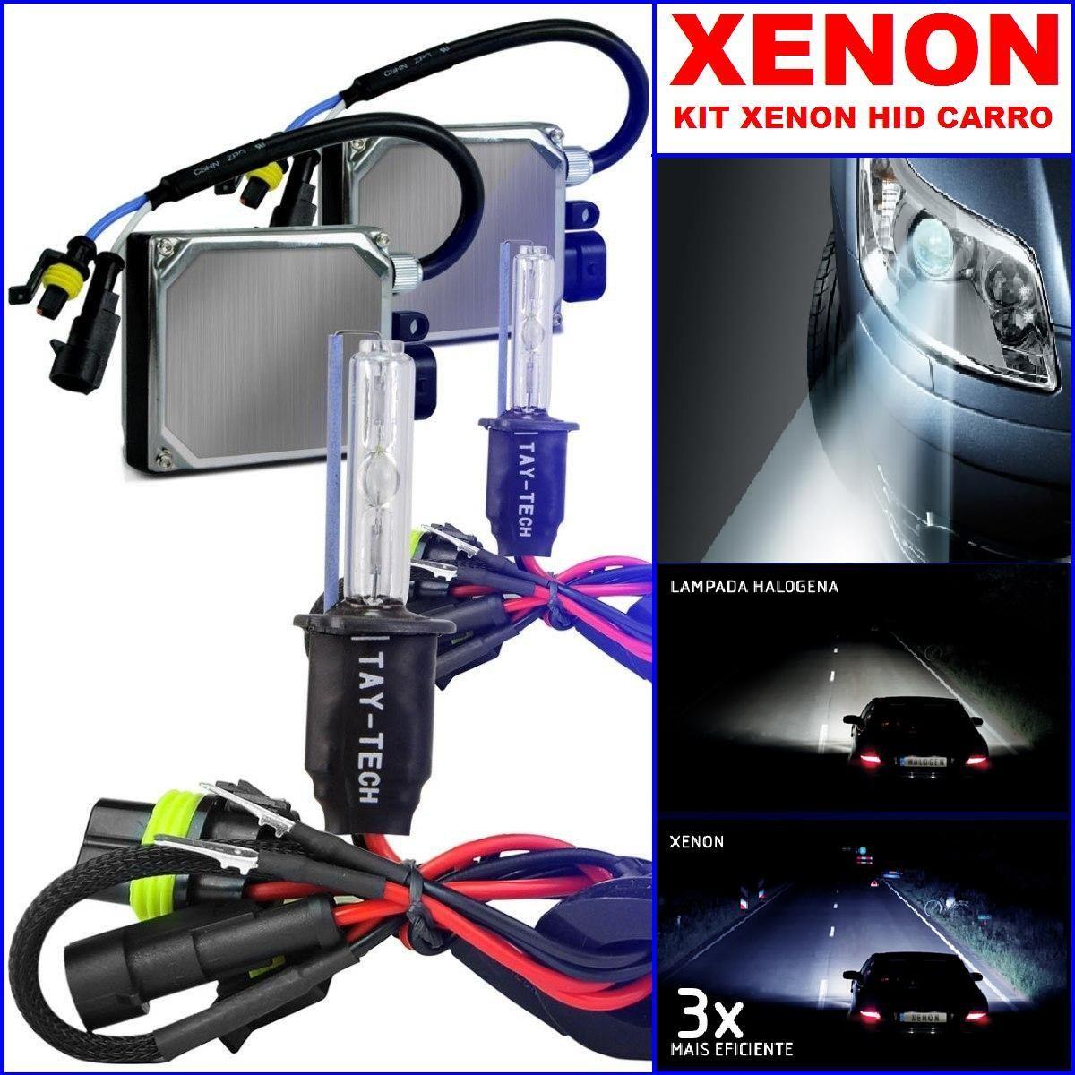 kit xenon h1 h3 h4 h7 h11 hb3 hb4 6000 a 10000k r 79 89 em mercado livre. Black Bedroom Furniture Sets. Home Design Ideas