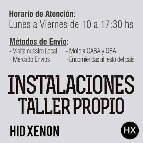 kit xenón h1 h3 h7 h8 h9 h10 h11 h16 9005 9006 12v autos