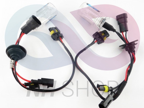 kit xenon h7 6000k +2led regalo premium caja hid nhshop