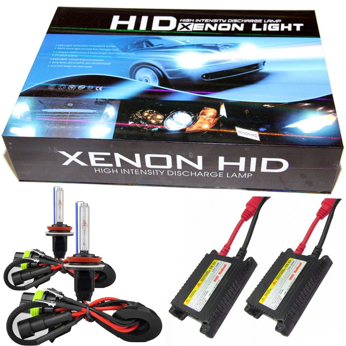kit xenon hid 4300k 6000k 8000k 10000k h1 h3 h4 h7 h11 hb4. Black Bedroom Furniture Sets. Home Design Ideas