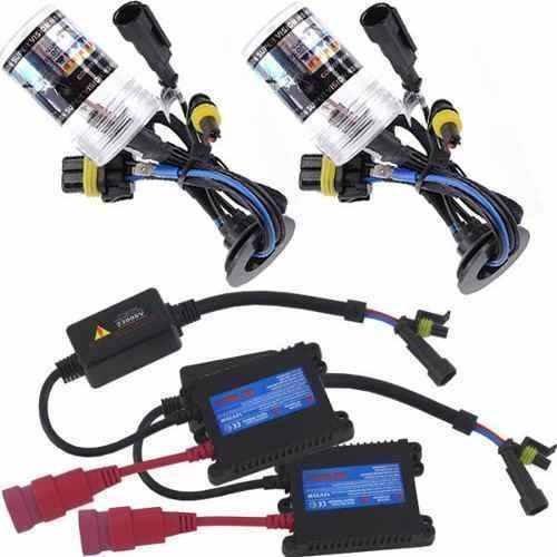 kit xenon hid h7 4300k reator slim digital lampada