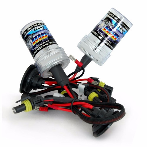 kit xenon hid lampadas hb4 9006 8000k automotivo