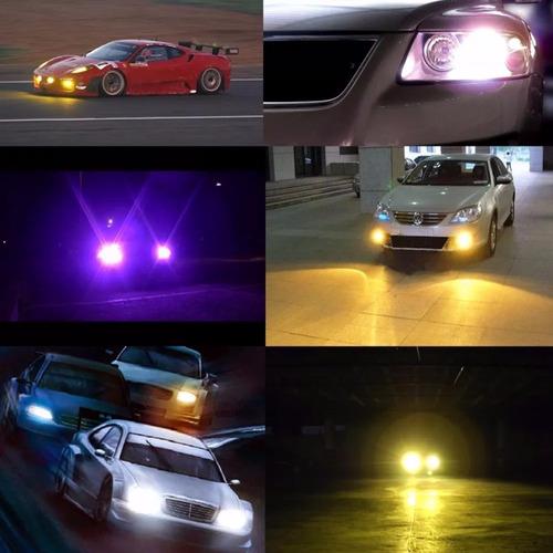 kit xenon hid osun dc luces baja y dual colores extremos
