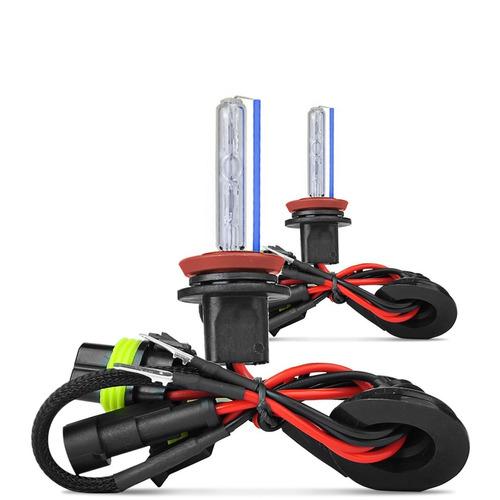 kit xenon lampada 6000k 8000k h1 h3 h7 hb3 hb4 h11 + brinde