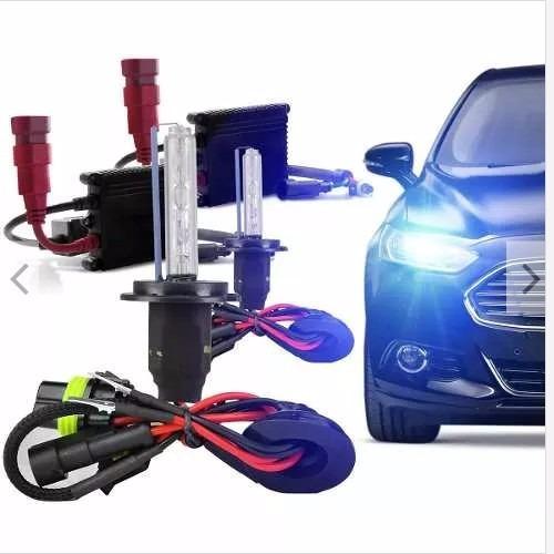 kit xenon lampada h1 h3 h4-2 h7 h8/h9/h11 hb3 hb4 8000k