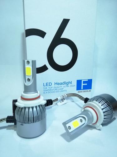 kit xenon led 7600lm faros nieblas h1 h3 h7 h11 9006 h10 880