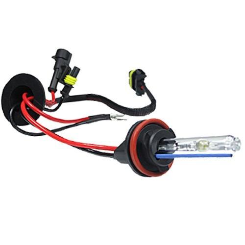 kit xenon moto honda bros nxr 160 lampada 8000k encaixe h4-2