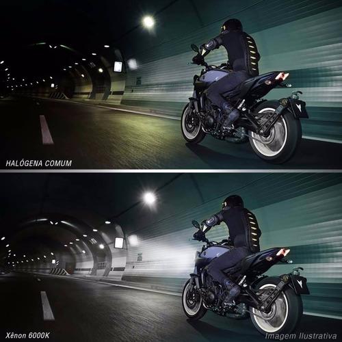 kit xenon moto slim h11 6000k
