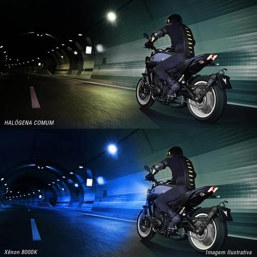 kit xenon moto slim h7 8000k