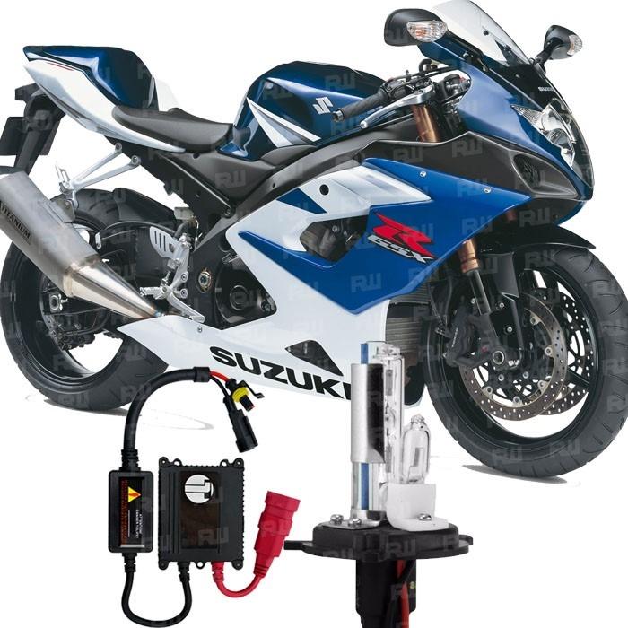 kit xenon moto suzuki gsr 1000 lampada 8000k h7 farol alto r 75 90 em mercado livre. Black Bedroom Furniture Sets. Home Design Ideas