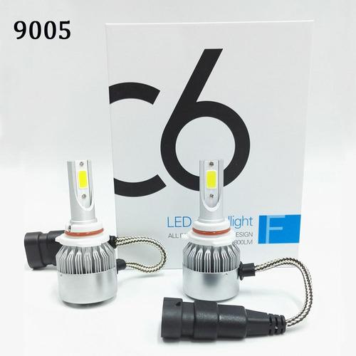 kit xenon super led 7.200lm carro h1 h3 h4 h7 h8 h11 hb3 hb4