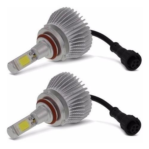kit xenon super led lampada 9005 hb3 2200 lumens 32w 12v 24v