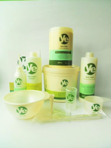 kit yellow new form relaxamento de guanidina de 1800kgs