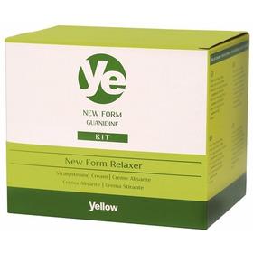 Kit Yellow New Form Relaxamento De Guanidina De 200gms