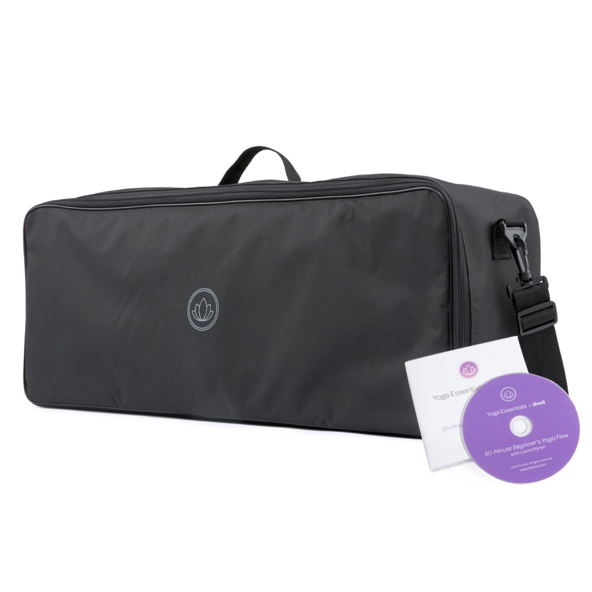 eb01d95d2 kit yoga tapete bloque toalla dvd 8 pz. Cargando zoom.