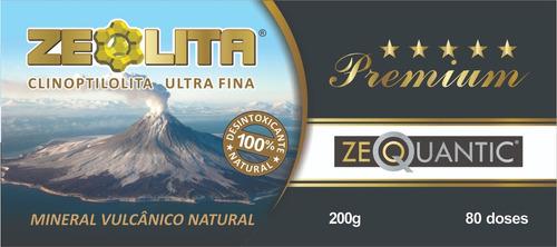 kit zeolita premium 2x200g potencializada - detox natural