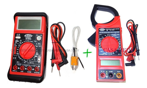 kit zurich zr-955 temp. capacimetro + amperometrica zr-266