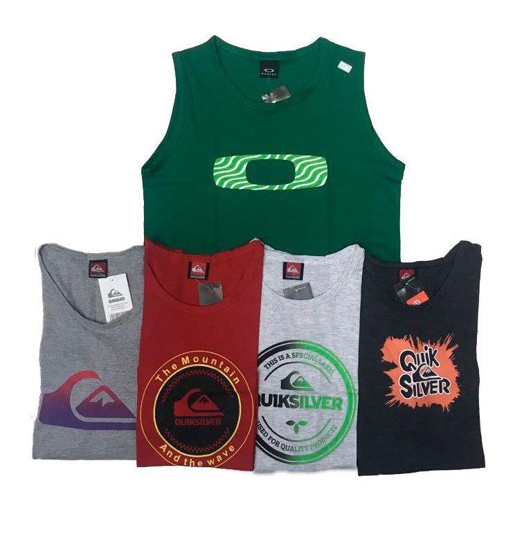 Kit 06camisetas Camisas Regatas Infantil E Juvenil Menino. - R  144 ... 442fa9bf99e