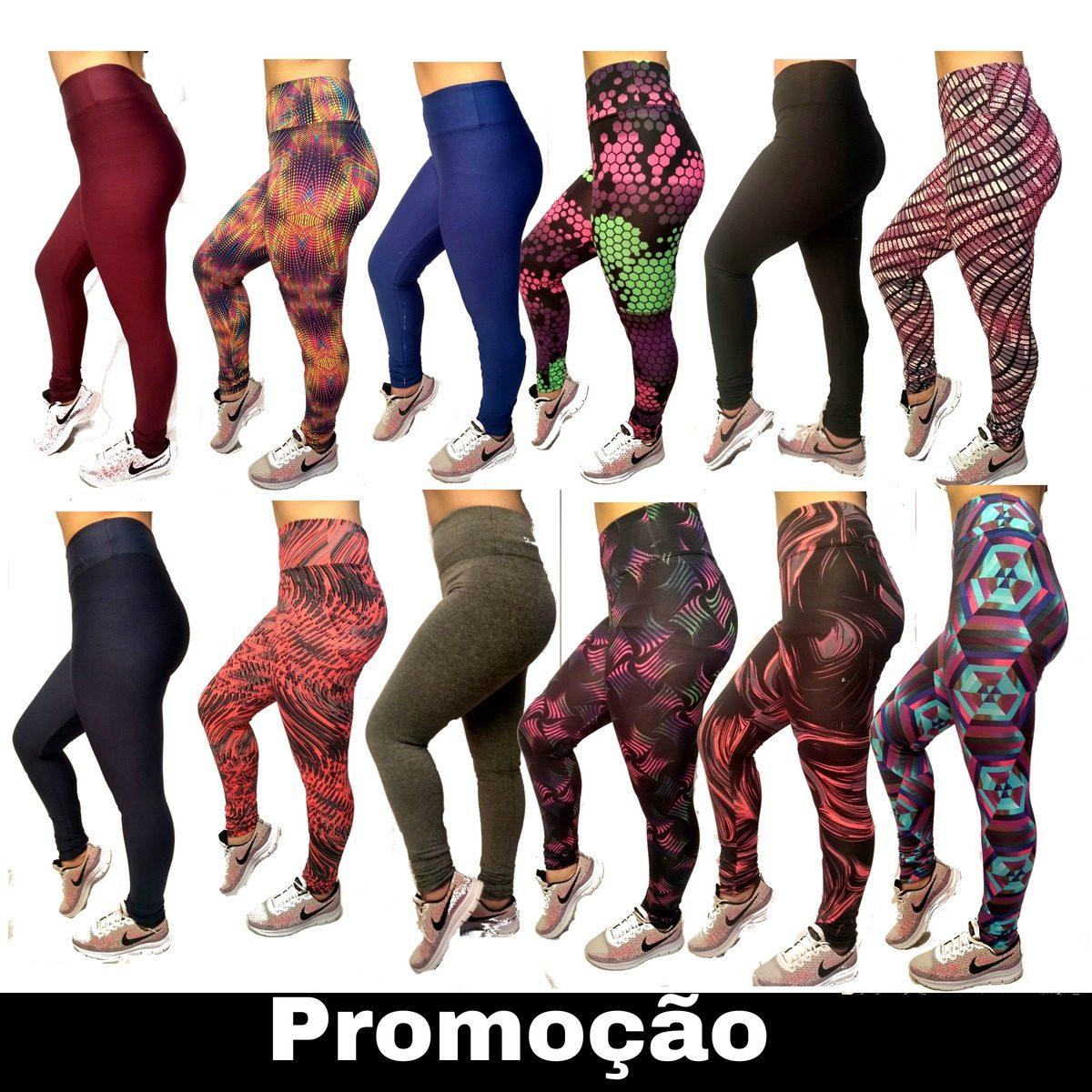 6c70be875 kit10 calças legging fitness femininas promoçao oferta leg. Carregando zoom.