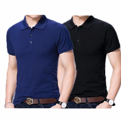 Kit10 Camisas Polo Masculina Lisa Várias Cores - R  265 054d96118032f