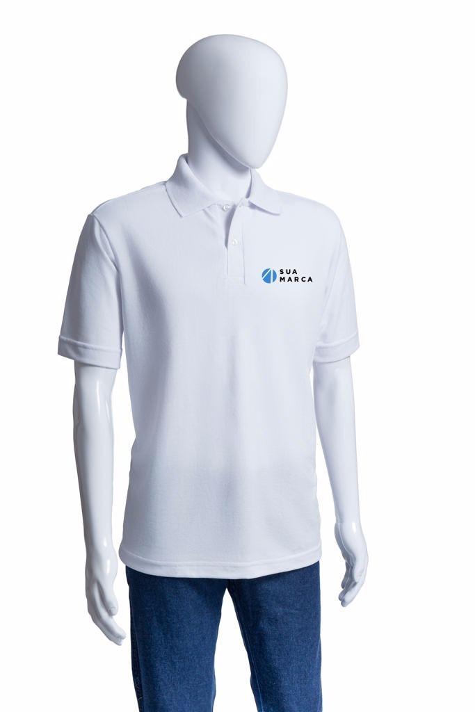 980caae751 Kit100 Camisas Pólo Masc. Mc Frete Grátis Bordado Incluso - R  3.800 ...