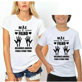 9ab432dfdb72 2 Camisetas Tal Mãe Tal Filho Dia Das Mães Blusa Blusinha - Calçados,  Roupas e Bolsas com o Melhores Preços no Mercado Livre Brasil