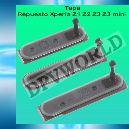 kit2 tapas repuesto sony xperia z3 z3c m5 m4 m2 z2 z1 pin