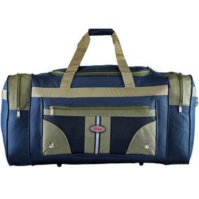 33ff3e6a5 Bolsa De Viagem Feminina Simples - Calçados, Roupas e Bolsas Azul ...