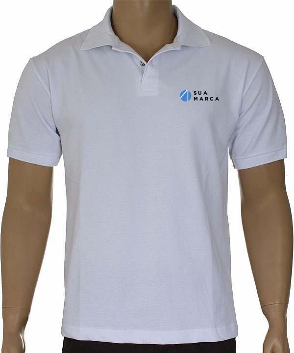 cee06b6397 Kit40 Camisas Pólo Masc. Mc Frete Grátis Bordado Incluso - R  1.520 ...