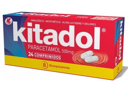 kitadol 500 mg  24 comp