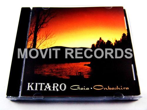 kitaro gaia onbashira cd raro como nuevo ed 1998 imp usa