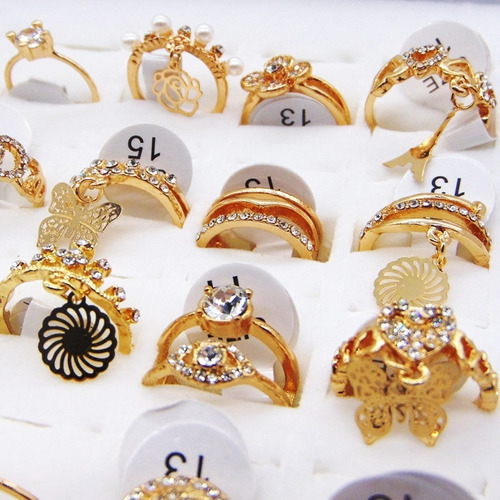 kitc/50 anel falange feminino atacado bijuteria fina revenda