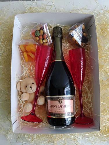 kit/caixa/cesta vinho dia dos namorados