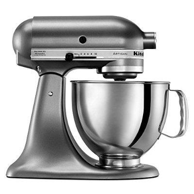kitchenaid artisan series con ksm150psqg verter escudo mezcl