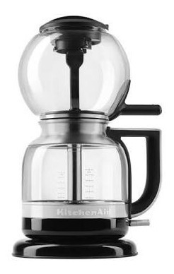 kitchenaid cafetera sifón 5kcm812e color negro