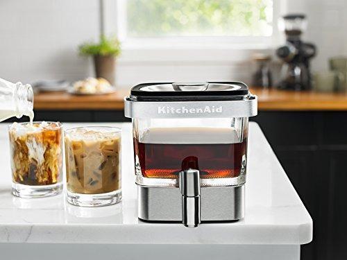 kitchenaid kcm4212sx cafetera de elaboracion en frio, acero