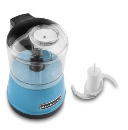 kitchenaid kfc3511cl  3.5 tazas procesador comida blue