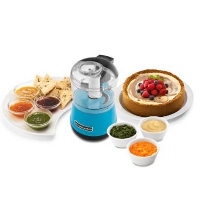 kitchenaid kfc3511cl  3.5-tazas procesador comida,blue