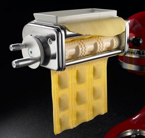 kitchenaid krav maquina de  ravioli batidora accesorio