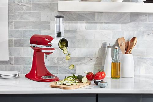 kitchenaid ksmvsa herramienta trituradora, blanca