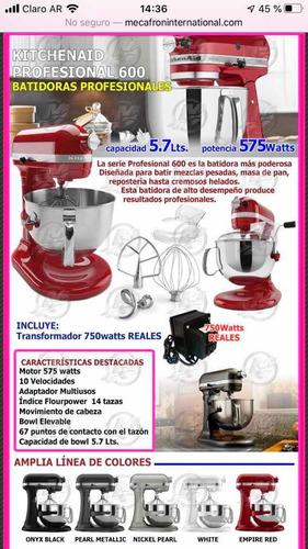 kitchenaid pro 600 design silver