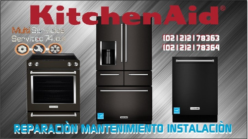 kitchenaid reparacion instalacion mantenimiento